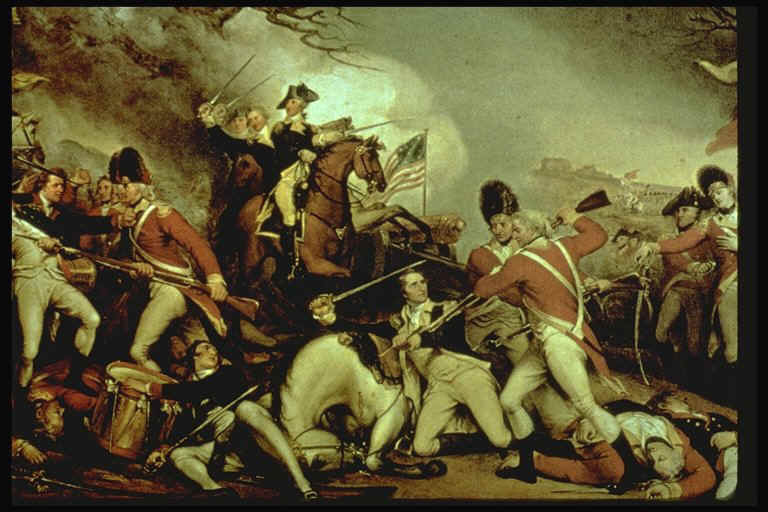 the reasons behind the american victory during the revolutionary war Major battles of the american revolutionary war  and the hudson river valley during the earlier french and indian wars  american victory convinced the french .